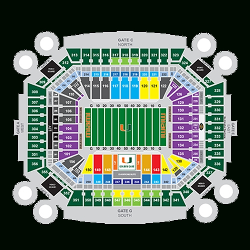 Hard Rock Stadium - Miami | Tickets, Schedule, Seating inside Miami Heat Stadium Address