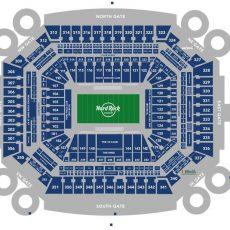 Hard Rock Stadium Seating Chart Miami Hurricanes | Miami with regard to Miami Stadium Map