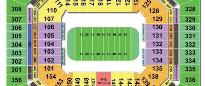 Hard Rock Stadium Seating Charts & Views | Games Answers with Miami Open Stadium Address