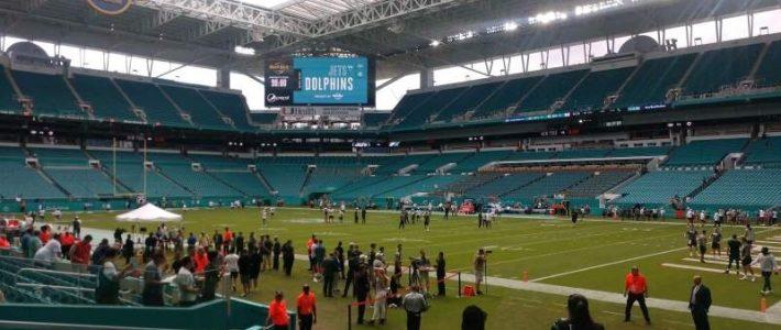 Hard Rock Stadium, Section 111, Home Of Florida Marlins for Hard Rock Stadium Miami Florida Address