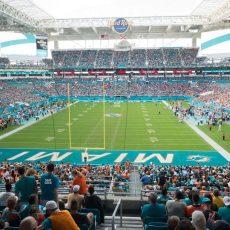 Hard Rock Stadium Section 231 Seat Views   Seatgeek within Miami Dolphins Stadium Parking Map