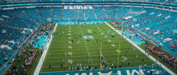 Hard Rock Stadium Section 333 Seat Views   Seatgeek in Miami Stadium Directions