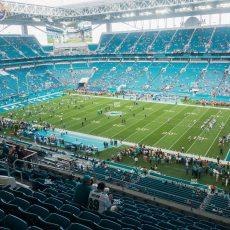 Hard Rock Stadium Section 342 Seat Views   Seatgeek within Miami Dolphins Stadium Seating Map