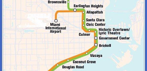 Hialeah Subway Map - Toursmaps pertaining to Miami Dade Public Transportation Map