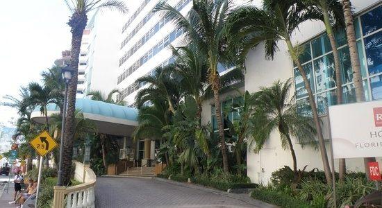 Hôtel - Picture Of Hotel Riu Plaza Miami Beach, Miami pertaining to Riu Plaza Miami Beach Map