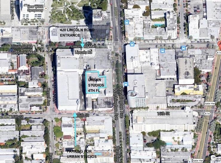 Hours + Location - Miami Beach Urban Studios regarding Miami South Beach Parking Map