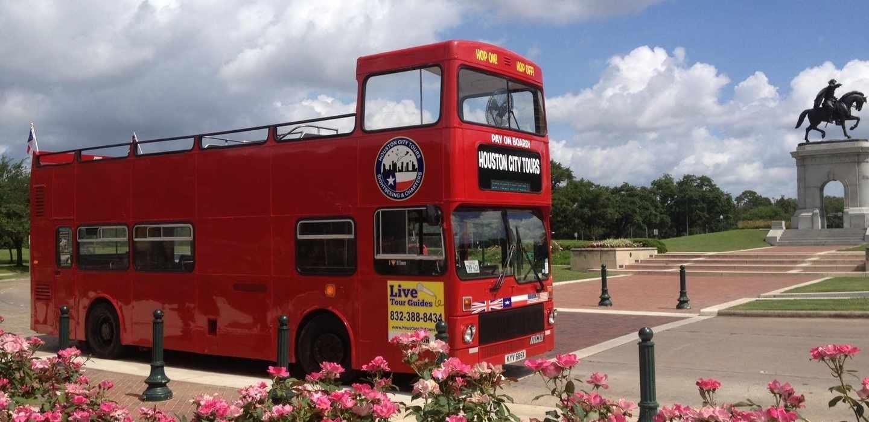 Houston: 24/48-Hour Hop-On Hop-Off Bus Pass pertaining to Miami Double Decker Bus Tour Map