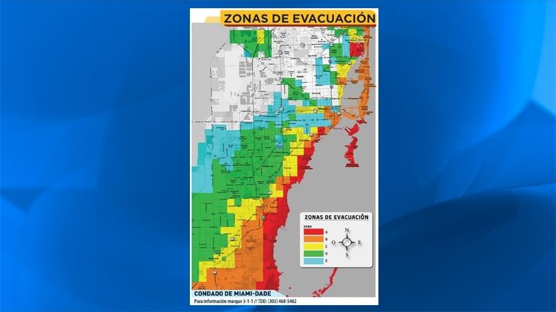 Huracán Irma: Coloca Tu Zip Code En Este Mapa De Miami Y for Mapa Miami Dade County