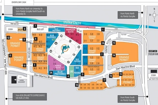 Jets Miami Dolphins Tailgate Week 3 throughout Miami Beach Parking Map