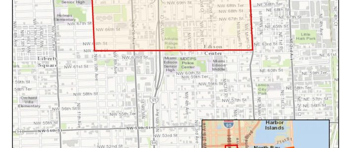 Local Zika Transmission Reported In 'Little Haiti' Area Of with regard to Miami Dade County Map
