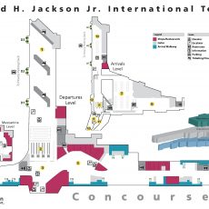 Luxe Layovers: Atl inside Miami Airport Car Rental Center Map