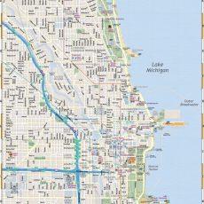 Map Of Chicago: Interactive And Printable Maps   Chicago inside City Of Miami Beach Historic District Map
