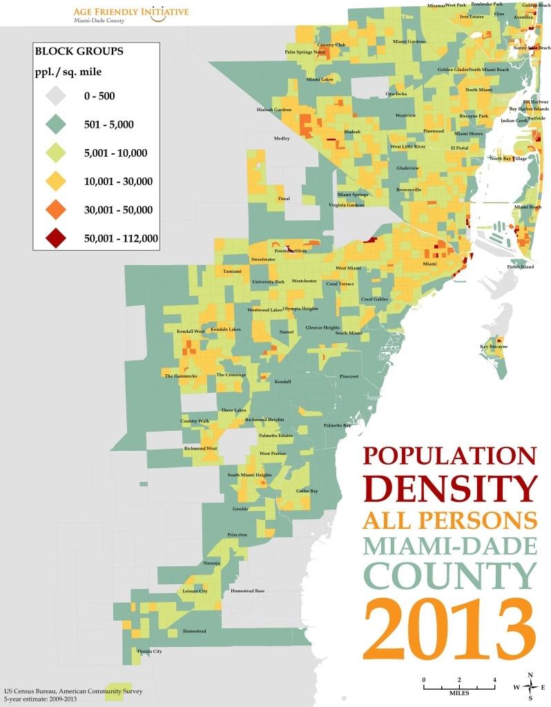 Map Of Miami Dade County - Maps For You regarding Miami Dade Elevation Map