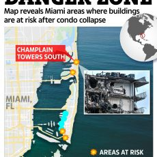 Map Reveals Miami Areas Where Buildings Are At Risk As pertaining to North Miami Beach Land Use Map
