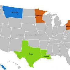 Mapa De Cidades Dos Estados Unidos - Pesquisa Google In 2020 for Mapa Dos Estados Unidos Miami