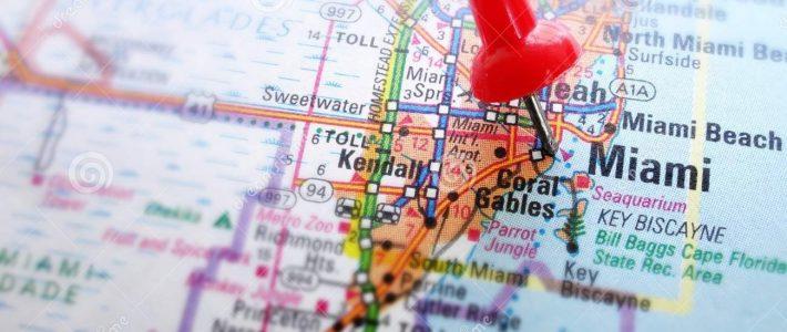 Mapa De Miami Imagem De Stock. Imagem De Olhar, Achado for Miami Mapa