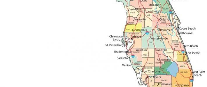 Mapa Florida   Map Of Florida Cities, Map Of Florida regarding Miami Beach Mapa Usa