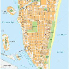 Mapa Miami Beach intended for Miami Beach Mapa Satelital