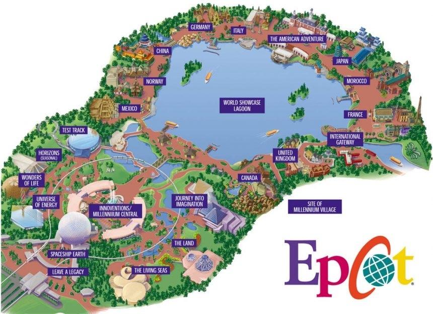 Mapas De Parques Temáticos En Orlando - Gaskatours, Inc. for Mapa De Miami Y Orlando