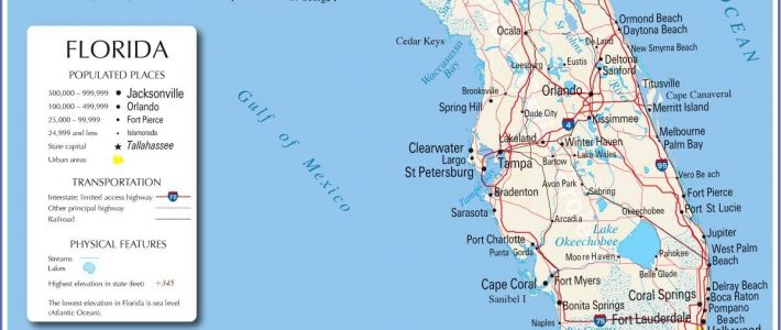 Maps Of Florida: Orlando, Tampa, Miami, Keys, And More with Map Miami Florida Keys
