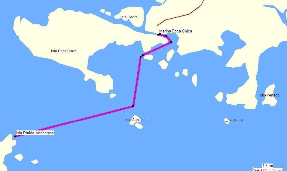 Marina Boca Chica Chiriqui Panama Central America - Our regarding Miami Beach Marina Dock Map