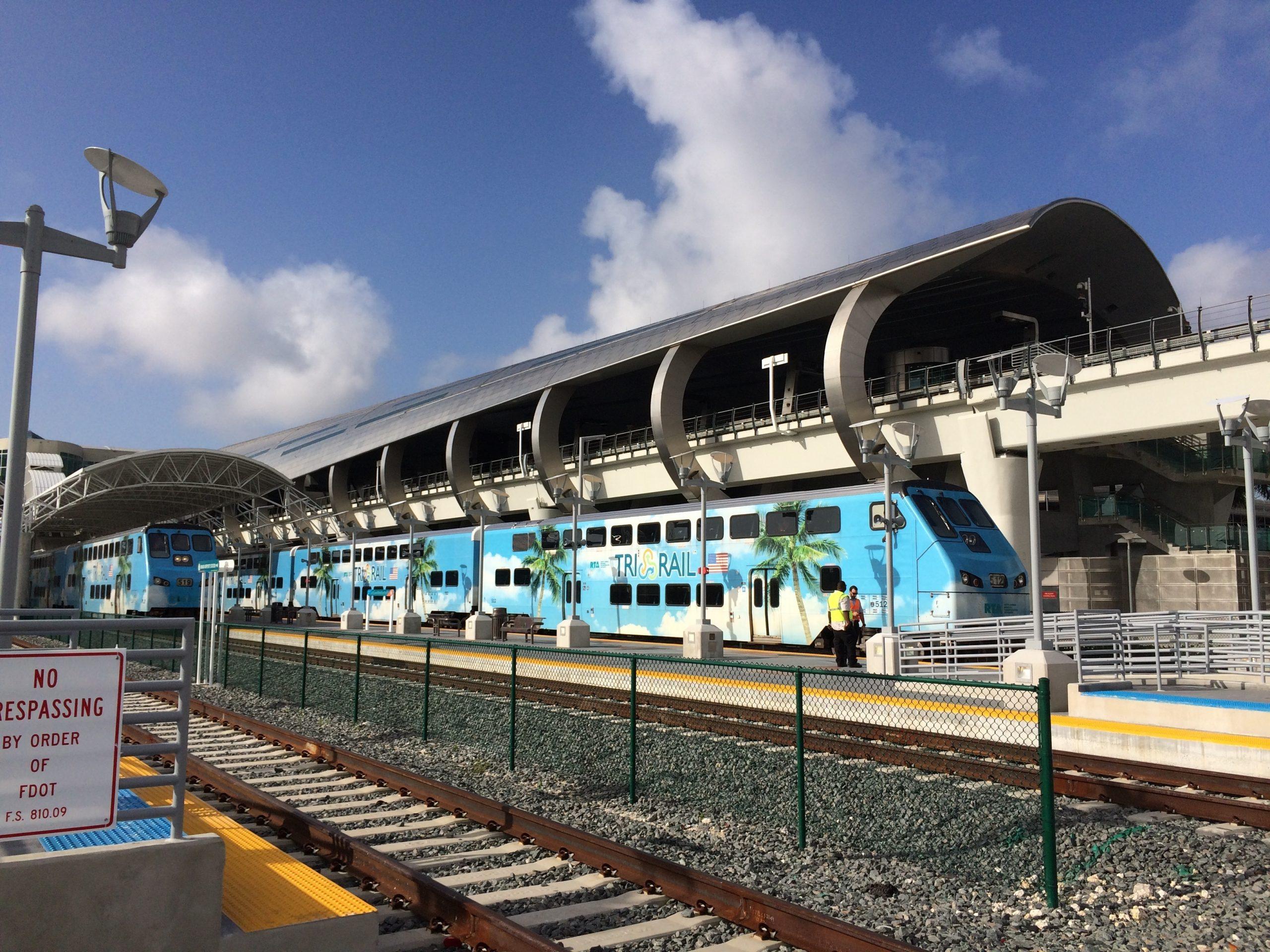 Miami Airport Fort Lauderdale Train in Miami Fort Lauderdale Train Map