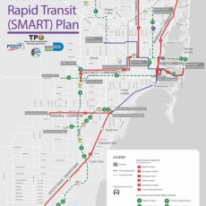 Miami Airport Tri Rail Map with Miami Airport Train Station Map