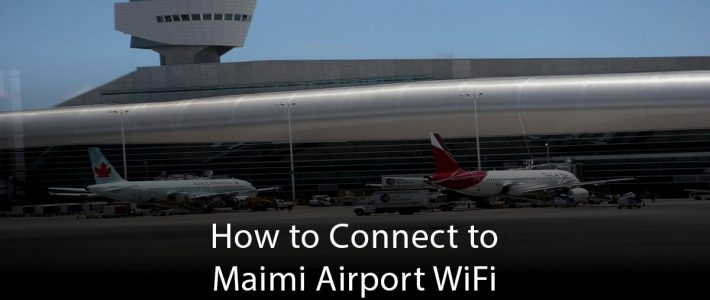Miami Airport Wifi for Miami Airport Terminals Connected
