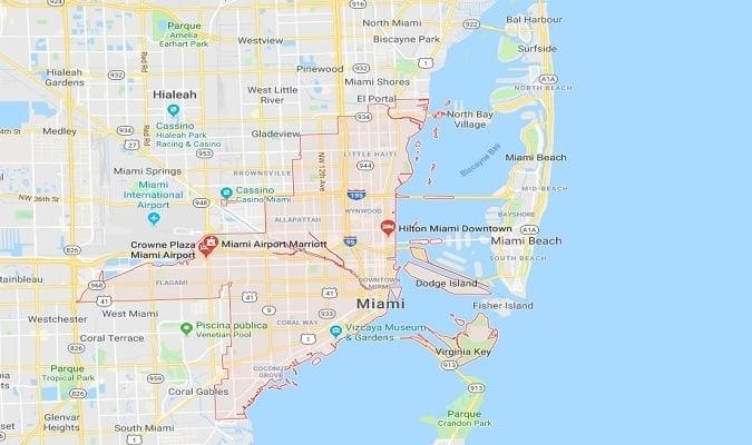 Miami Archives - Eua Destinos with regard to Mapa Miami Para Garmin