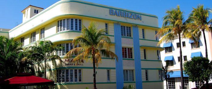 Miami Beach   Art Deco District Along Ocean Drive with Miami Beach Art Deco District Map