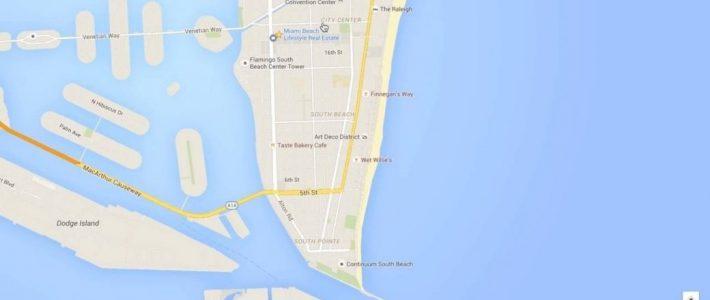 Miami Beach Neighborhood Tour & Google Maps Walkthru throughout Google Map Miami Beach Florida