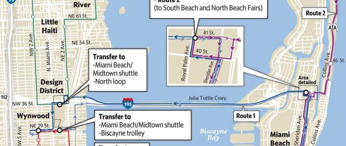 Miami Beach Prepares For Art Basel Traffic, Raises Parking throughout Miami Beach City Map