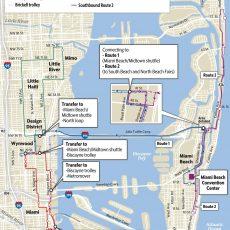 Miami Beach Prepares For Art Basel Traffic, Raises Parking with South Beach Miami On Map
