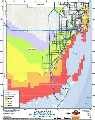 Miami Dade County Zip Codes Map - Maps For You in Miami Dade Zip Code Map