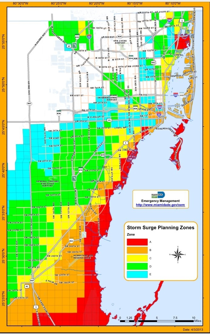 Miami Dade Flood Map   Draw A Topographic Map intended for Mapa Interactivo Miami Beach