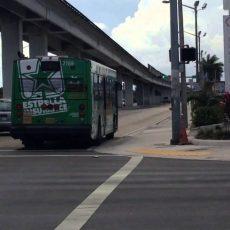 Miami-Dade Transit Metrobus 2002 Nabi 040.17 2167 On Route with Miami Dade Bus Routes Map