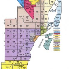Miami-Dade Zip Code Map - Zip Code Map Of Palm Beach in Miami Zip Code Map