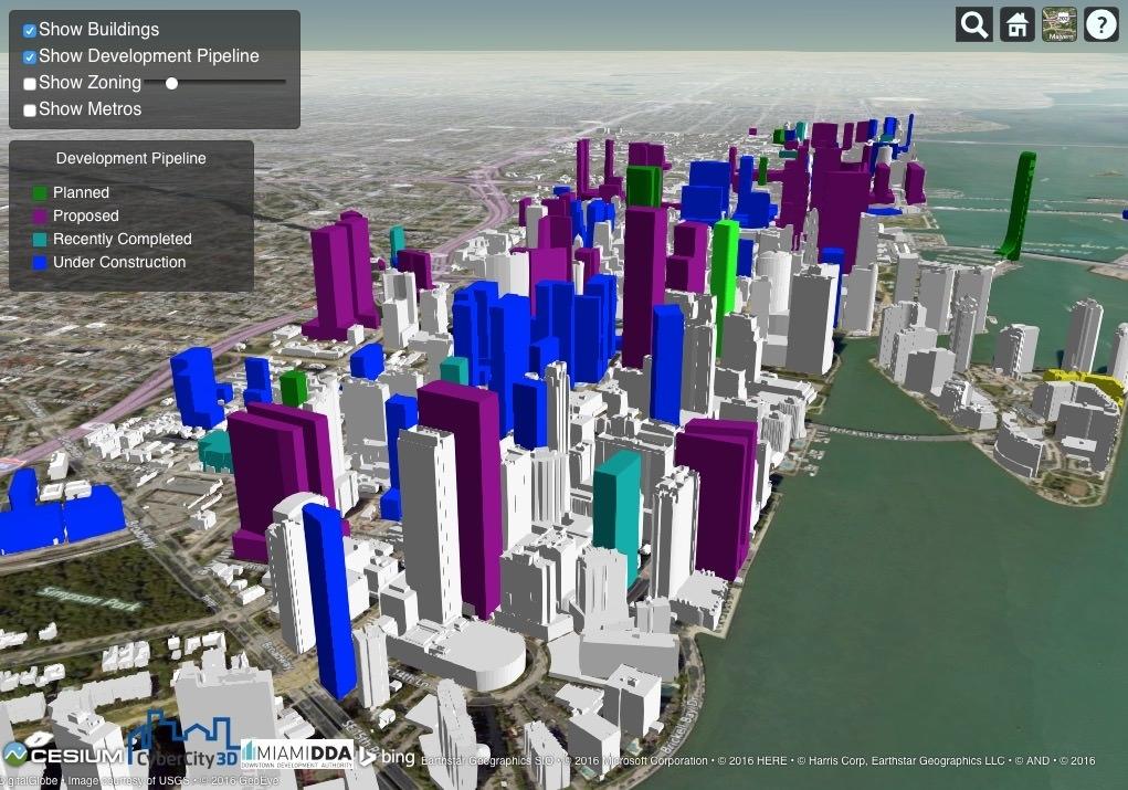 Miami Dda Interactive Map - Investinmiami Real Estate within Grand Beach Miami Map