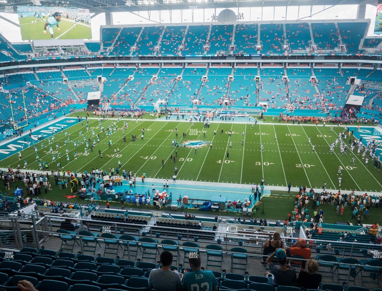 Miami Dolphins Hard Rock Stadium Map with regard to Miami Gardens Stadium Map