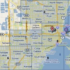 Miami Family Vacation Guide with Miami Map Of Hotels