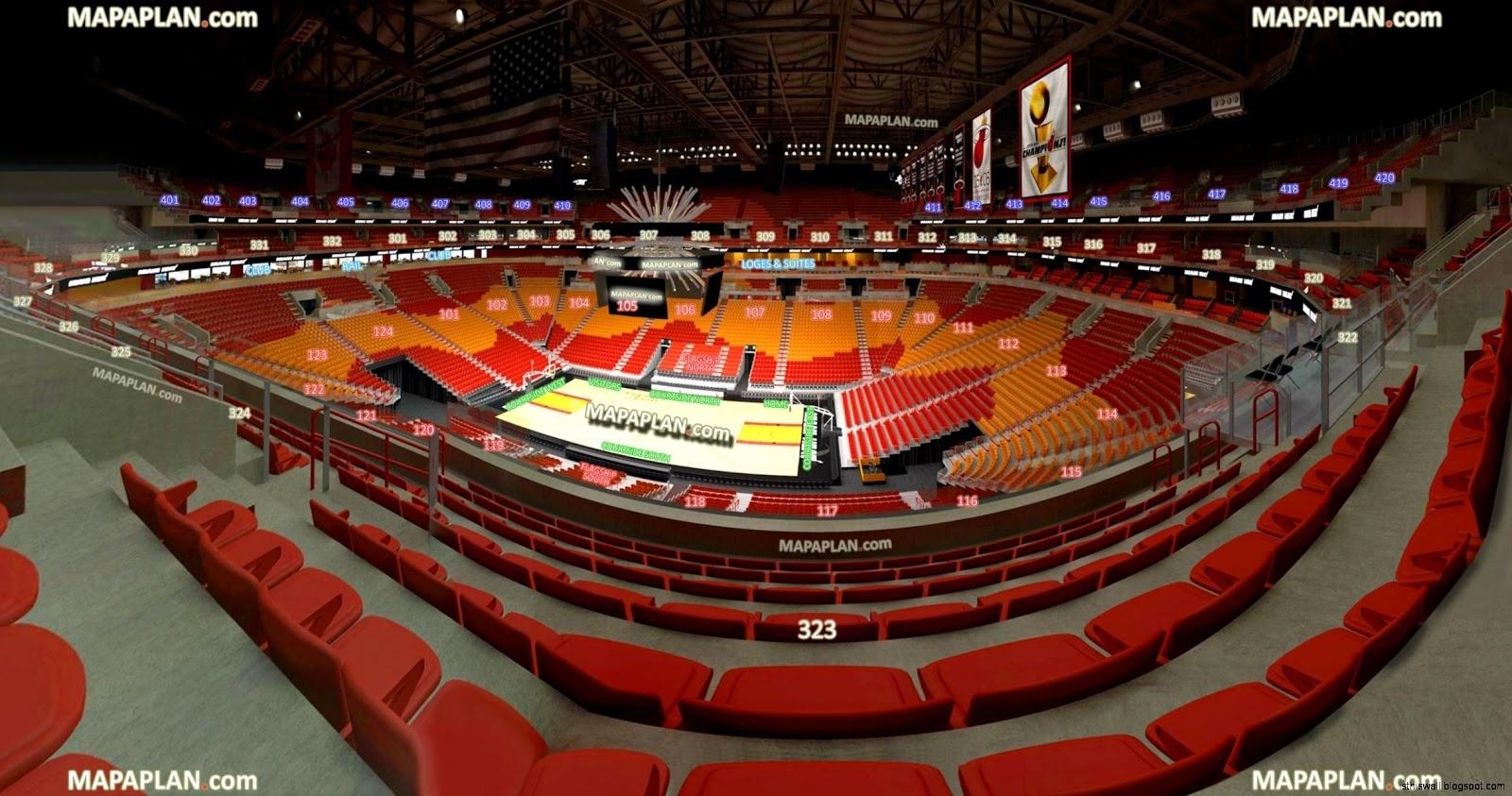 Miami Heat Stadium | This Wallpapers within Miami Heat Map Seat