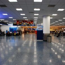 Miami International Airport At American Airlines Terminal for Miami Airport Map Airlines