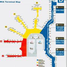 Miami International Airport - Maplets in Miami International Airport Map Terminal N