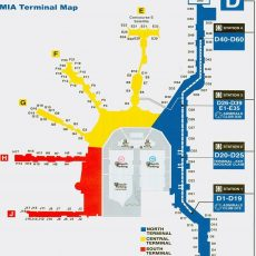 Miami International Airport - Maplets with regard to Miami Int Airport Map