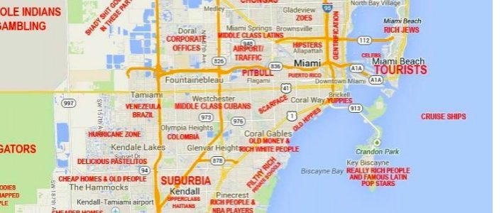 Miami Map - 15 Free Hq Online Puzzle Games On for Miami Beach Map Printable