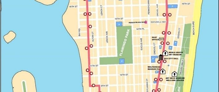 Miami Map - 15 Free Hq Online Puzzle Games On with Miami Beach Bike Routes Map