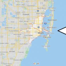 Miami Map And Map Of Miami, Miami On Map   Where Is Map within Miami Beach Location Map