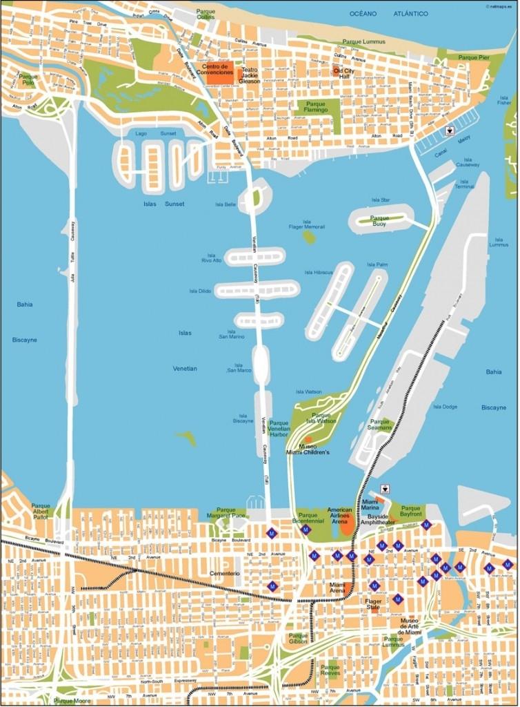 Miami Mapa Vectorial | Netmaps. Mapas De España Y Del Mundo in Miami Mapa