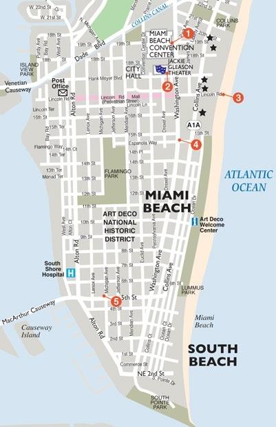 Miami Meets Merk: #10 Maps within Miami Public Beaches Map