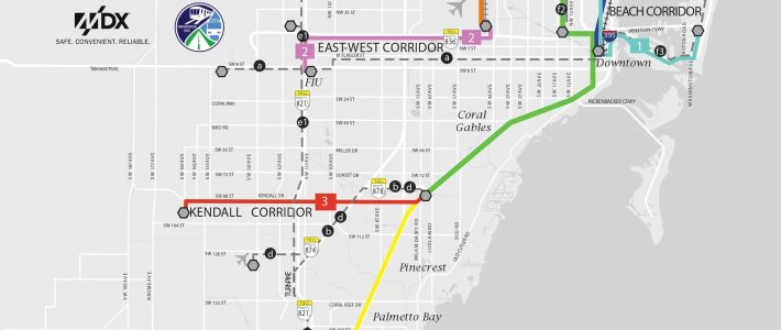 Miami Officials Plan Huge Rail Expansion - Page 3 within Miami Train System Map